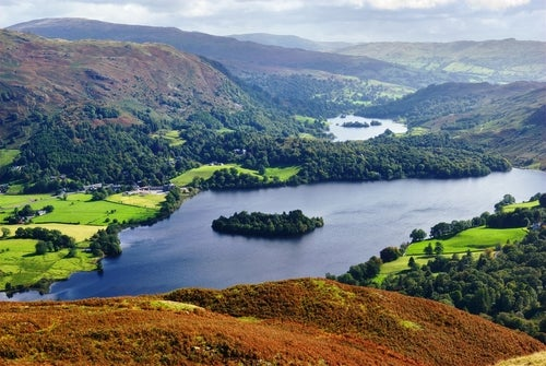 Lake District en Inglaterra