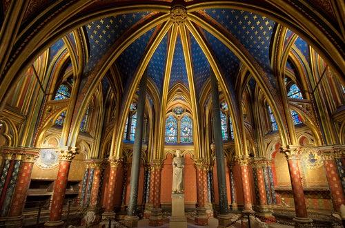 Sainte-Chapelle en París
