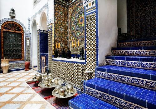 Raid en Marruecos