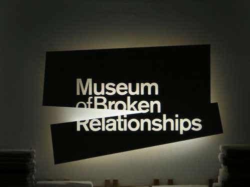 El curioso Museo de las Relaciones Rotas en Zagreb