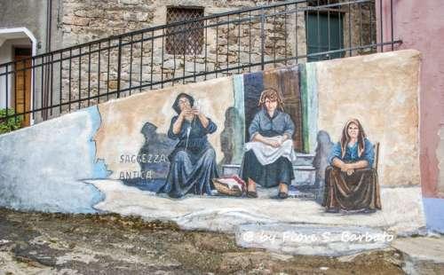 Orgosolo, un refugio de bandidos transformado por el arte