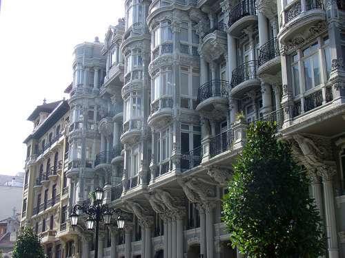 Calle Uría en Oviedo