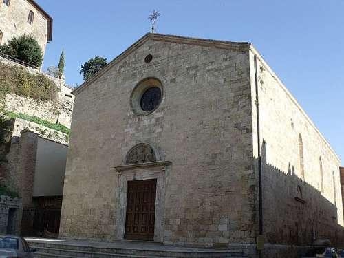 Iglesia de la Santísima Trinidad de Cetona