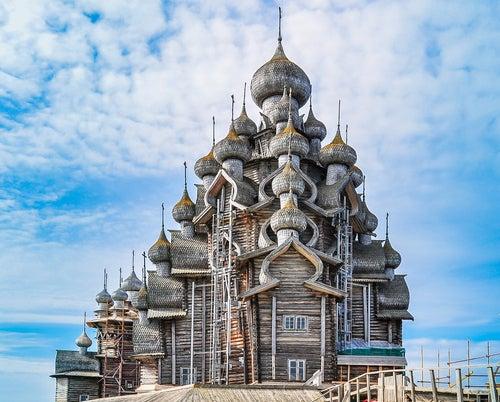 Las magníficas iglesias de madera de Kizhi Pogost en Rusia