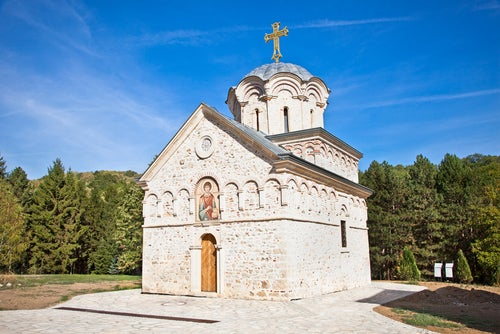 Monasterio de Hopovo en Serbia