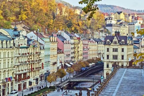 Karlovy Vary, el gran balneario de Chequia