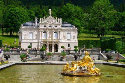 El palacio de Linderhof, un pequeño sueño real