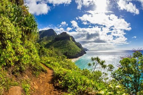 Los increíbles paisajes de Na Pali en Hawaii