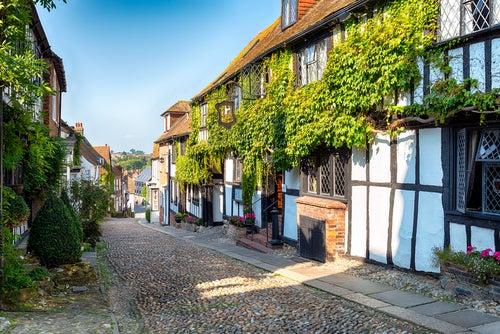 Rye en Inglaterra, una villa detenida en el tiempo