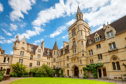 Balliol College en Oxford