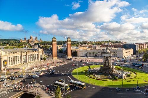 La Plaza de España de Barcelona, un rincón para admirar