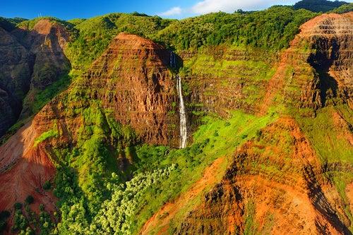 Cañón Waimea en Na Pali