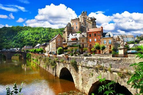 Recorremos el impresionante valle del Lot en Francia