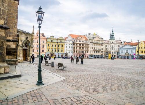 Plaza de la República en Pilsen