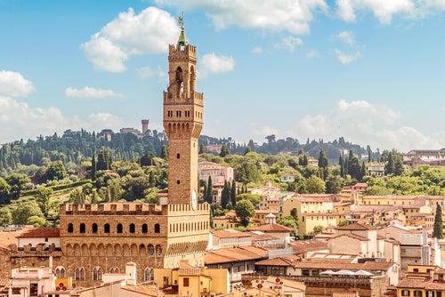 Palazzo Vecchio en Florencia