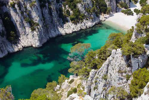 Las Calanques, un paisaje espectacular en Marsella