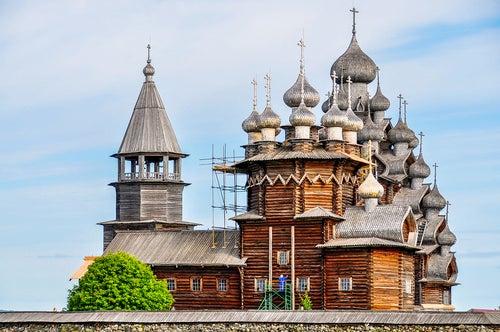 Iglesia de Kizhi Pogost