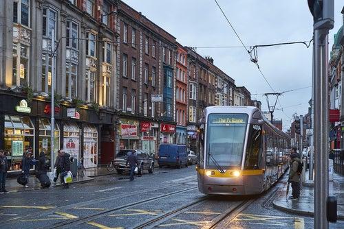 Tranvía de Dublín