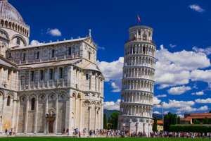 Torre de Pisa en Italia