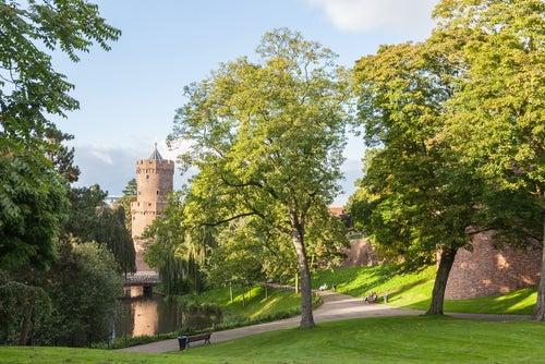 Kronenburgerpark en Nimega
