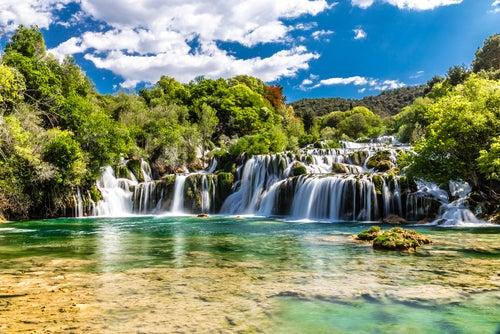 El Parque Nacional Krka en Croacia, a la sombra de Plitvice