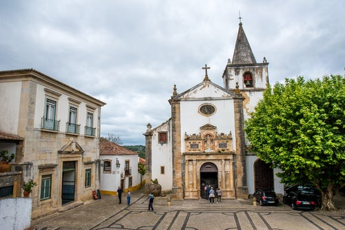 Iglesia de Santa Marta en Óbidos