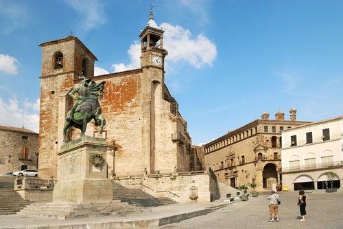 Trujillo en Cáceres, un precioso pueblo extremeño