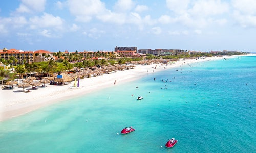 Playa Eagle en Aruba
