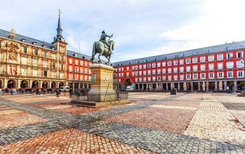 La Plaza Mayor de Madrid, el corazón de la capital de España