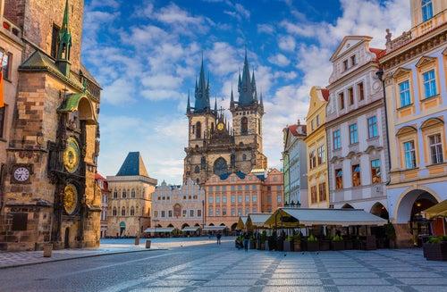 Iglesia de Tyn en Praga