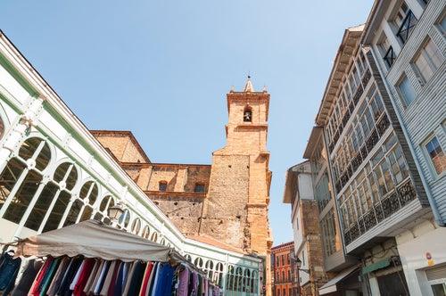 Mercado de Fontán en Oviedo