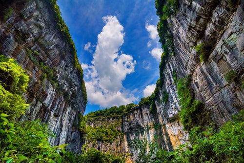 Aventuras en los increíbles paisajes de Wulong en China