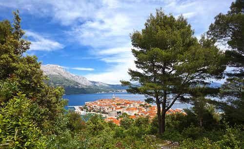 Korcula en Croacia, la isla verde del Adriático