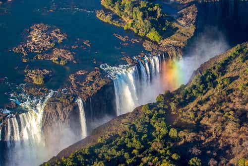 Las cataratas Victoria en el corazón de África