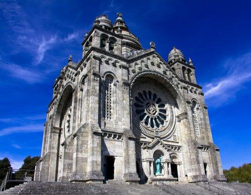 Basílica de Santa Lucía en Viana do Castelo