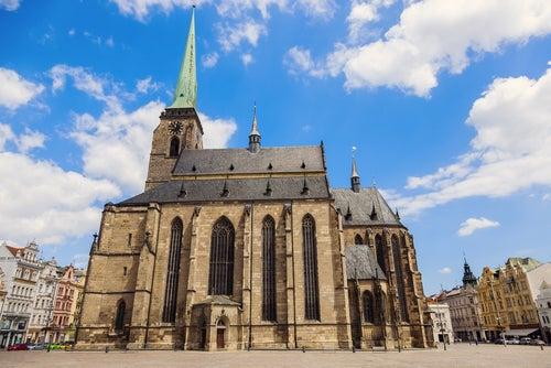 Catedral de San Bartolomé en Pilsen