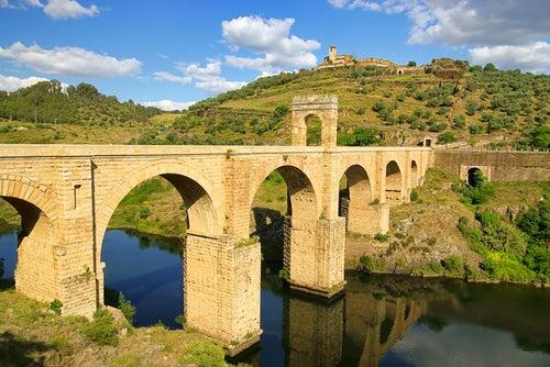 Puente de Alcántara en Cáceres