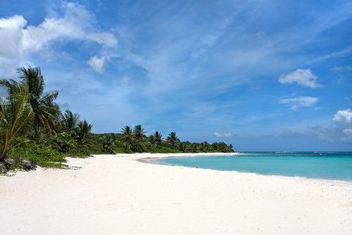 Playa Flamenco en Isla Culebra