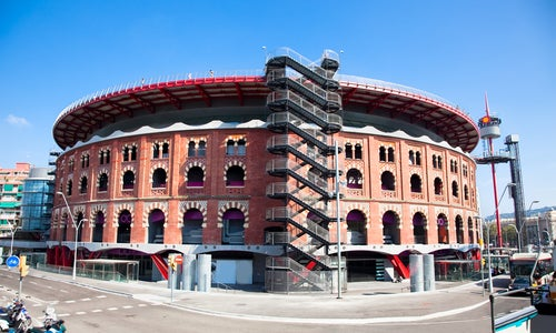Centro comerciale n la Plaza de España de Barcelona