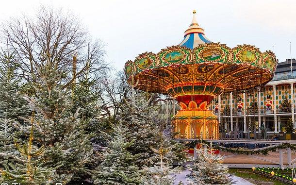 Jardines Tivoli en Copenhague