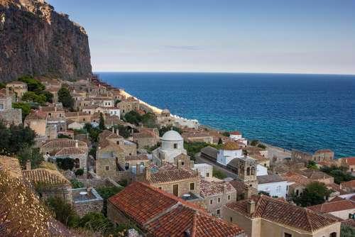Monemvasía en Grecia