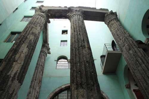 Templo de Augusto en Barcelona