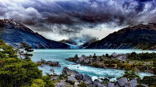 Lago Leones es Aysén