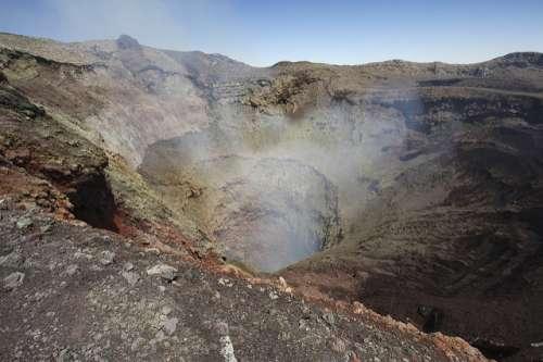 Volcán Villarrica en Chile