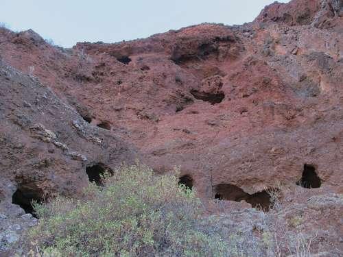 Cuevas del Rey en Tejeda