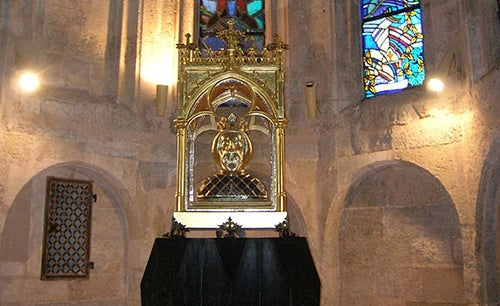 Busto de San Ladislao en Gyor