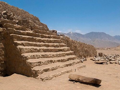 Caral en Perú
