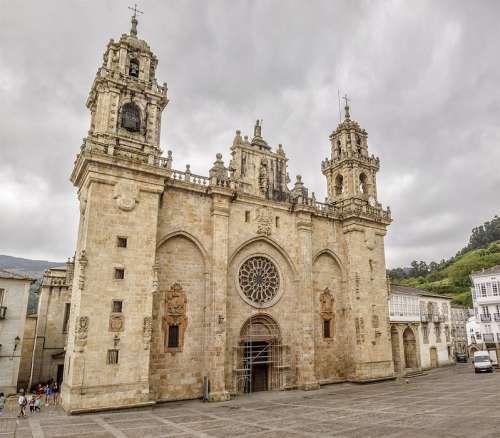 Catedral de Mondoñedo en Galicia