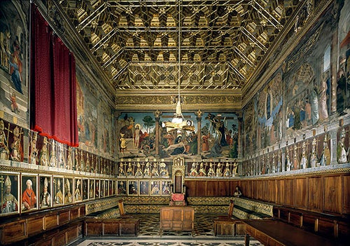 Sala capitular de la Catedral deToledo