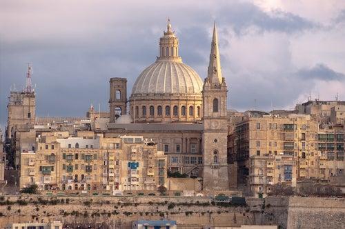 Catedral de St. Paul en La Valletta